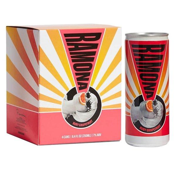 Ramona Ruby Grapefruit wine spritz 4x8.4 fl oz can