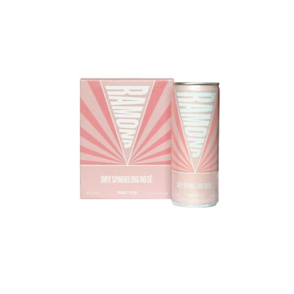 Ramona Dry Sparkling Rose 4x8.4 fl oz can
