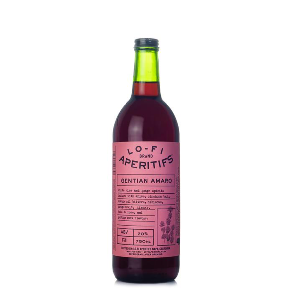 Lo-Fi Brand Aperitifs Gentian Amaro  (750ml )