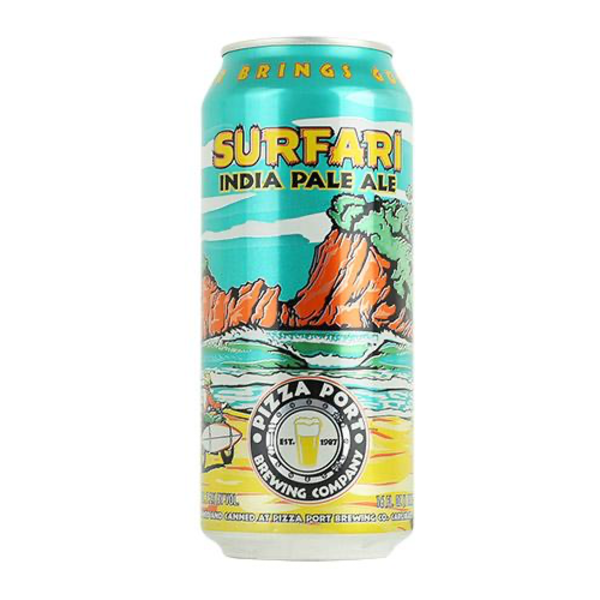Pizza Port Brewing Pizza Port Brewing Company Surfari IPA 16oz can