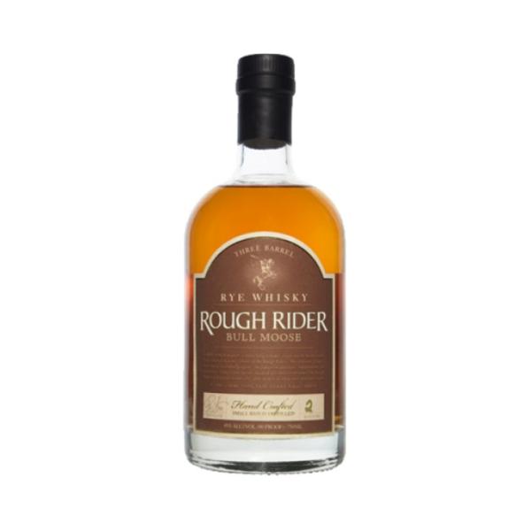 Rough Rider 'Bull Moose' Three Barrel Rye Whisky (750ml)