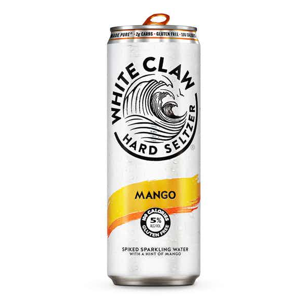 White Claw Hard Seltzer Mango (19.2OZ CAN)