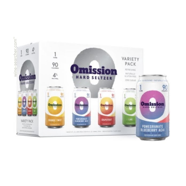 Omission Brewing Co. Hard Seltzer Variety Pack(12OZ/12PK CAN)