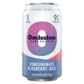 Omission Brewing Co. Hard Seltzer Pomegranate Blueberry Acai (12OZ/6PK CAN)