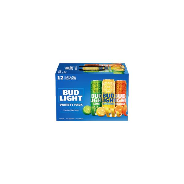 Bud Light Variety Pack Premium Light Lager (12PK/12oz Can)