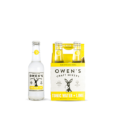 Owen's Craft Mixers Tonic Water+ Lime (250ml)