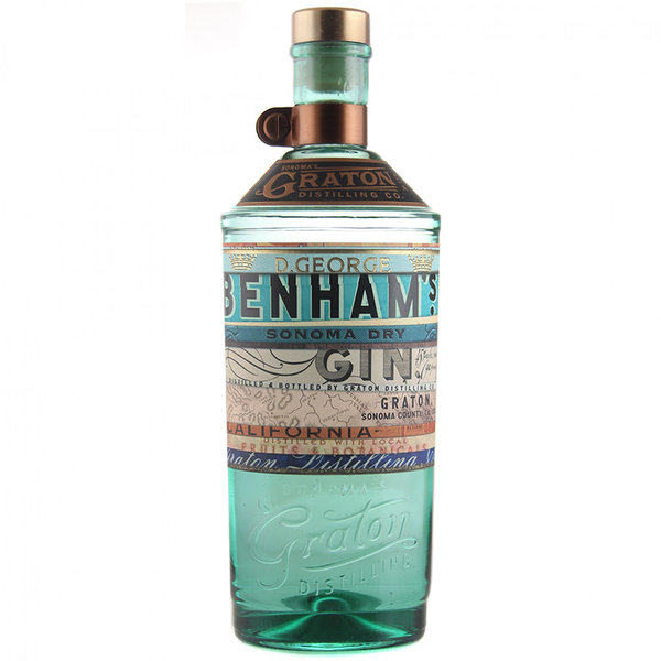 D.George Benham's Sonoma Dry GiN 750ml