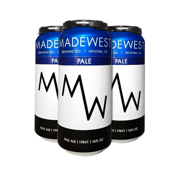 Madewest Madewest Pale Ale  (4pkc/16oz)