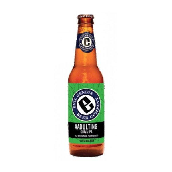 Evil Genius Beer Co. #Adulting Guava IPA (6pkb/12oz)