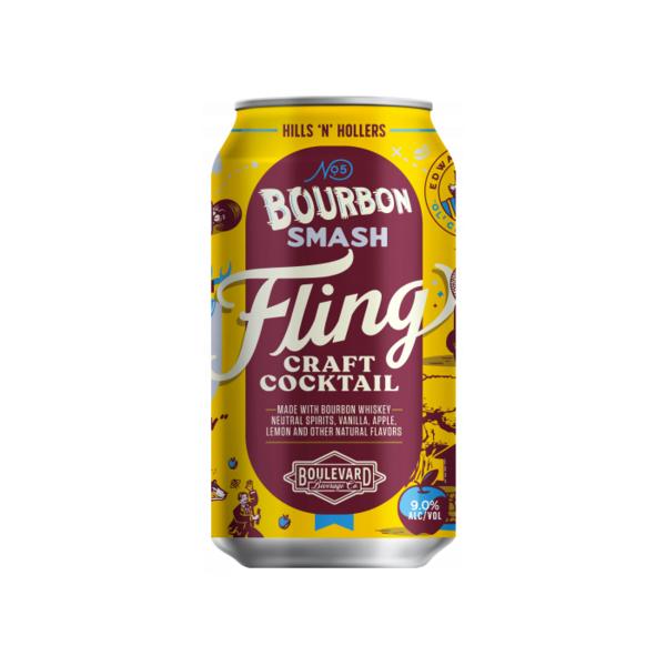 Boulevard Brewing Fling Bourbon Smash (4pk/12oz CAN)