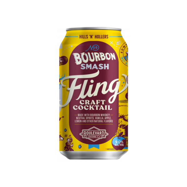 Boulevard Brewing Fling Bourbon Smash (4pkc/12oz)