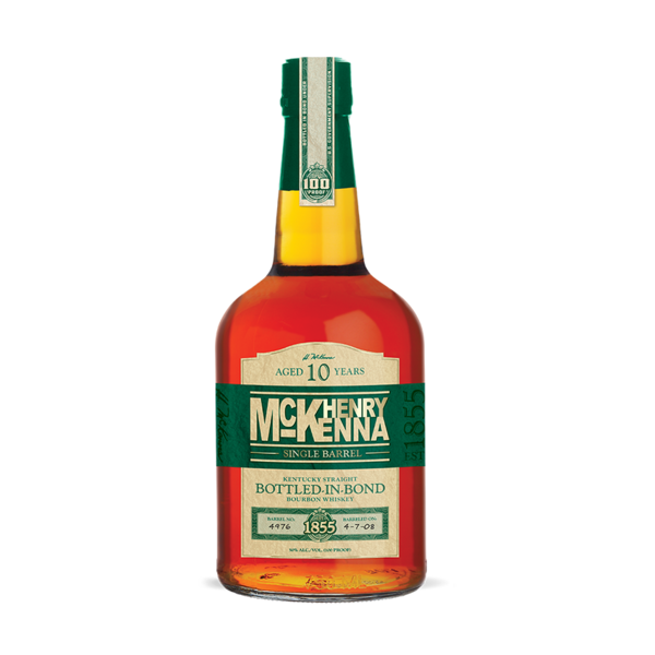 Mc Kenna Henry Single Barrel Bourbon Whiskey 10 Year Old