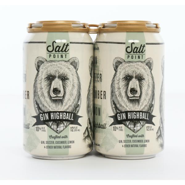 Salt Point Gin Highball (12oz CAN)