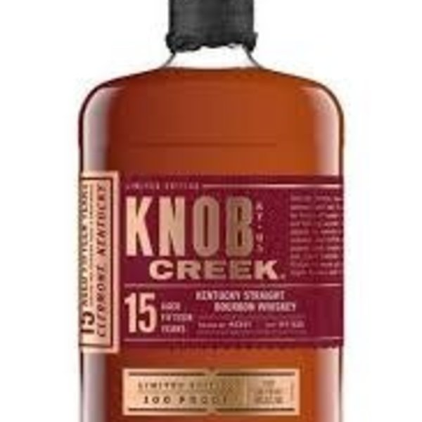 Knob Creek Knob Creek Limited Edison 15 Year Old (750ML)