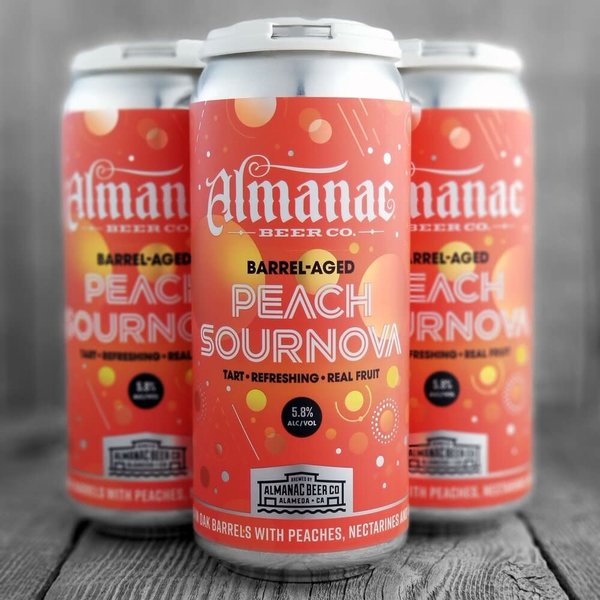 Almanac Almanac Brewing Barrel-Aged Peach Sournova (16oz Can)
