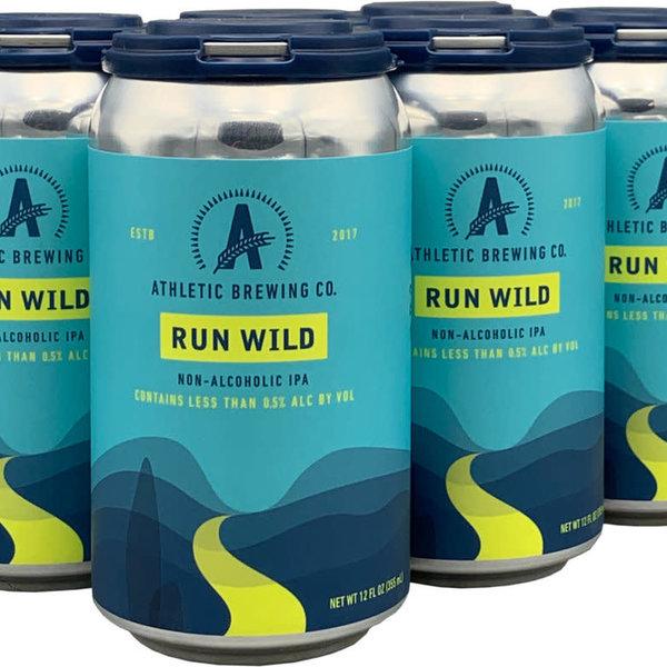 Athletic Run Wild Non-Alcoholic IPA (6PK/12OZ CAN )