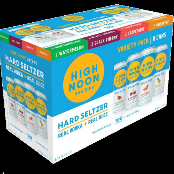 High Noon Hard Seltzer Variety Pack (8PK/355ML)