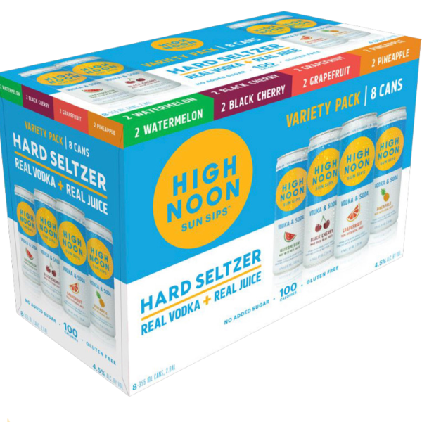 High Noon Hard Seltzer Variety Pack (8pkc/355ml)