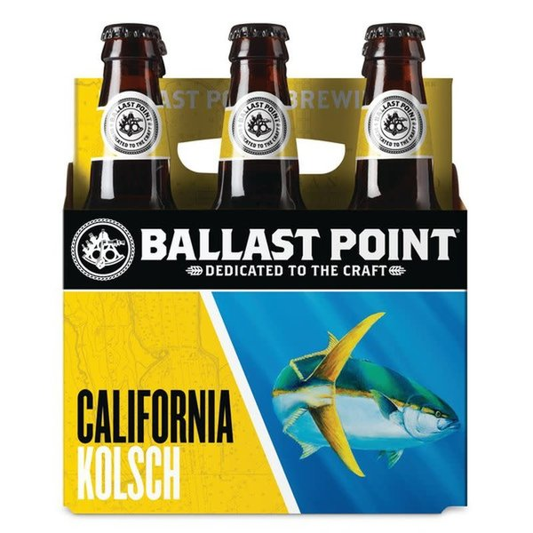 Ballast Point Brewing Company Ballast Point California Kolsch (12OZ/6PK BTL)