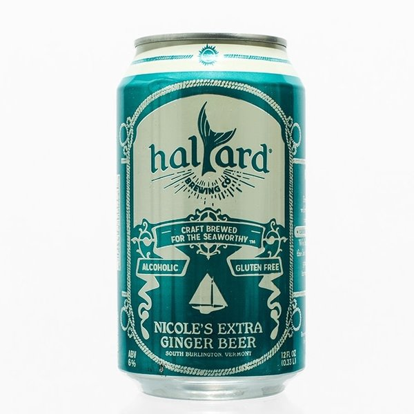 Halyard Brewing Co. Nicole's Extra Ginger Beer (6PK/12OZ CAN)