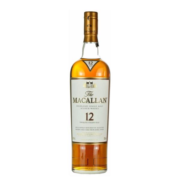 The Macallan The Macallan 12 Years Old Sherry Oak Whiskey  (750ML)
