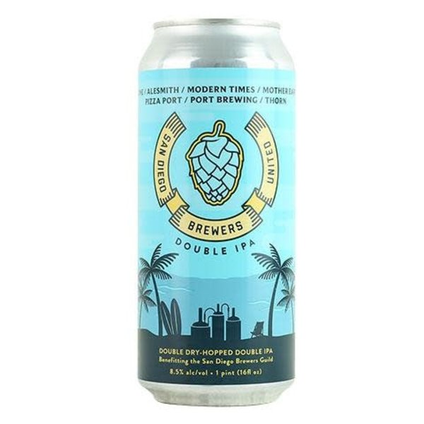Stone San Diego Brewers United Double IPA (16oz Can)