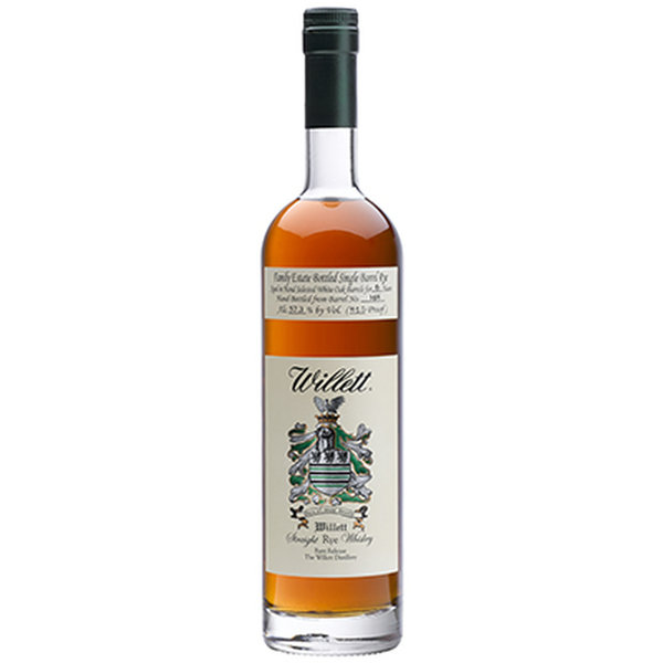 Willett Family Estate 4 Year Old Small Batch Straight Rye (750ML)