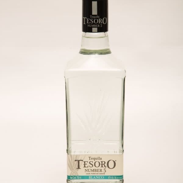 Tesoro Tequila Number 5 Blanco (750ml)