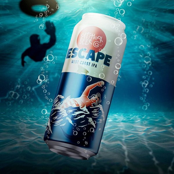Off Shoot Beer Escape (West Coast IPA) (16OZ CAN)