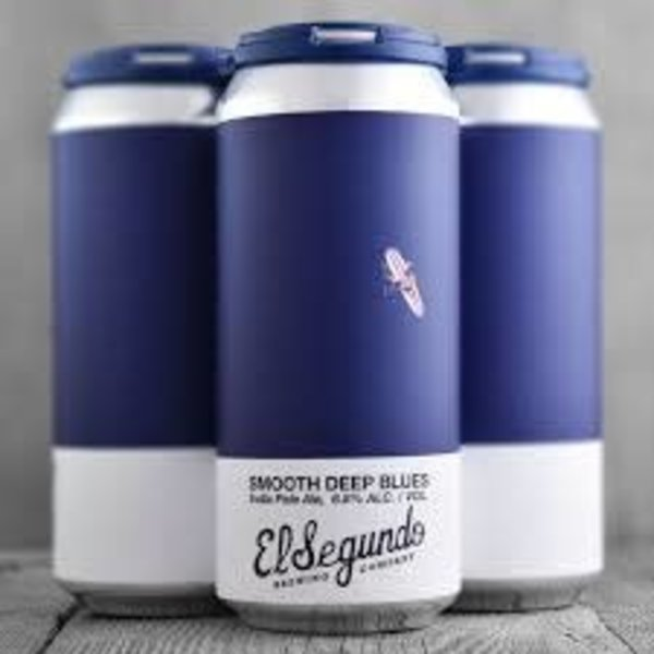 EL SEGUNDO El Segundo Smooth Deep Blues IPA (4PK/16OZ CAN)