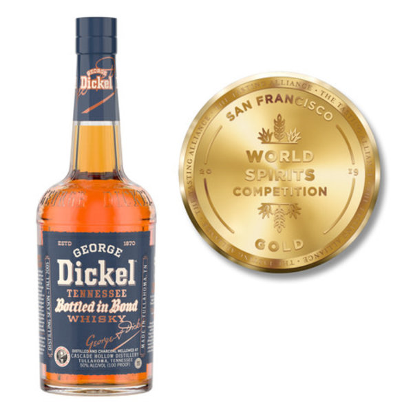 George Dickel 11-year Bottled-In-Bond Straight Tennessee Whisky(750ml)