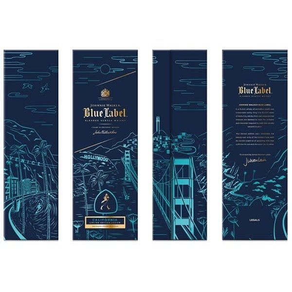 Johnnie Walker Johnnie Walker Blue Label California Limited Edition  (750ml)