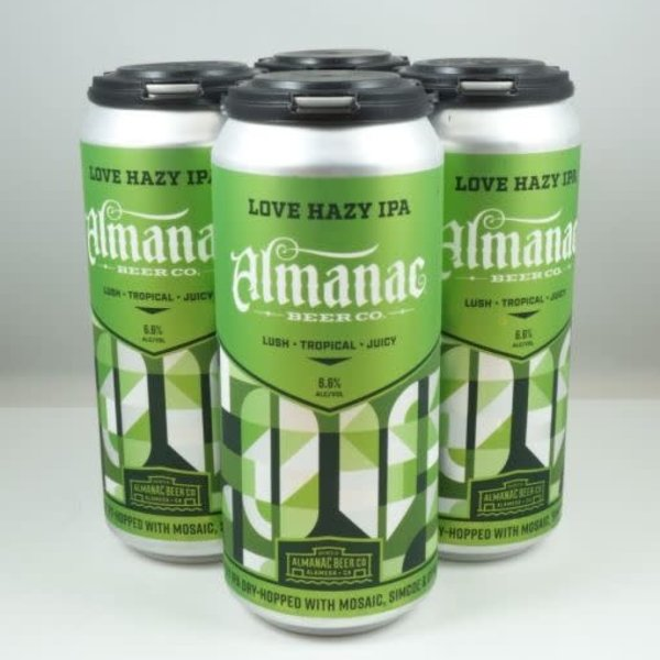 Almanac Almanac Brewing Love Hazy IPA (16oz/4pk)