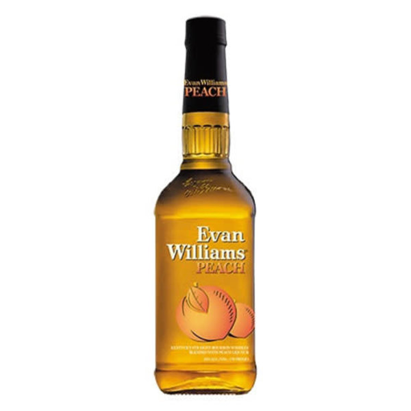 Evan Williams Evan Williams Peach Kentucky Straight Bourbon Whiskey (750ml)
