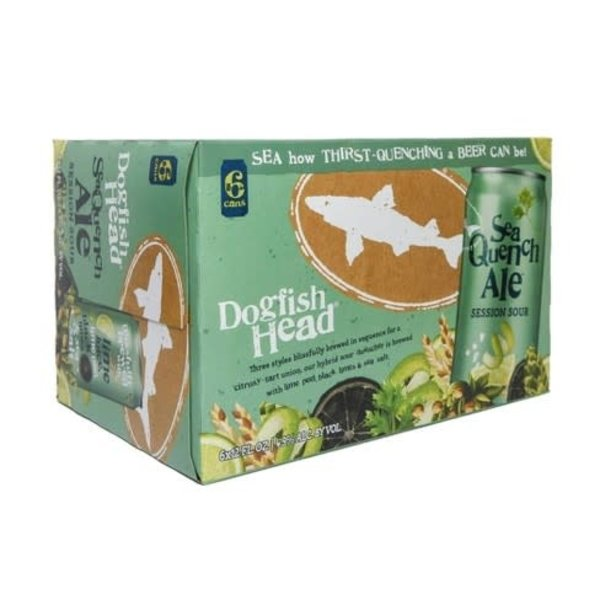 Dogfish Head Dogfish Head SeaQuench Ale  (6PK/12OZ CAN)