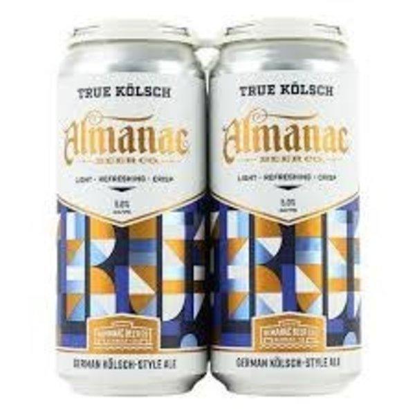 Almanac Almanac Brewing True Kolsch (16oz/4pk)