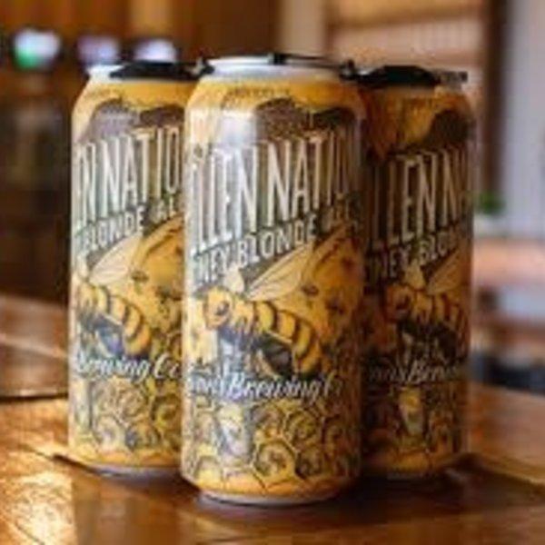 Evans Brewing Pollen Nation Blonde Ale (16oz)