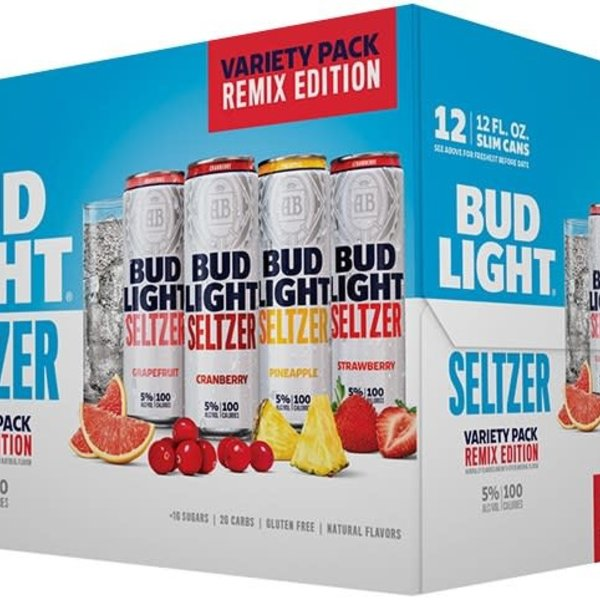 Bud Light Seltzer Veriety Pack Remix Edition  (12PK/12oz Can)