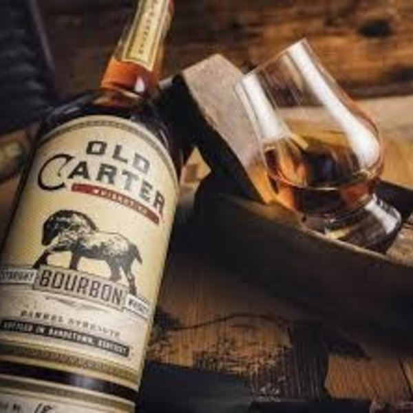 Old Carter Batch 6 Barrel Strength Straight Bourbon Whiskey (750ml)