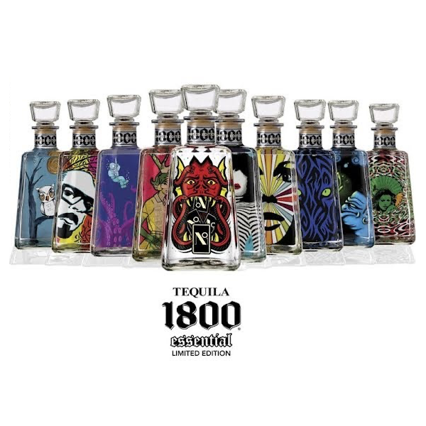 1800 Tequila 1800 Tequila Essential Artists Series Shantell Martin 2018  (750ml)