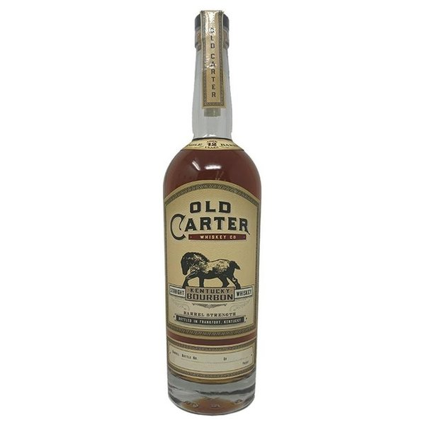 "Old Carter ""Batch 1"" Kentucky Straight Whiskey (750ml)"