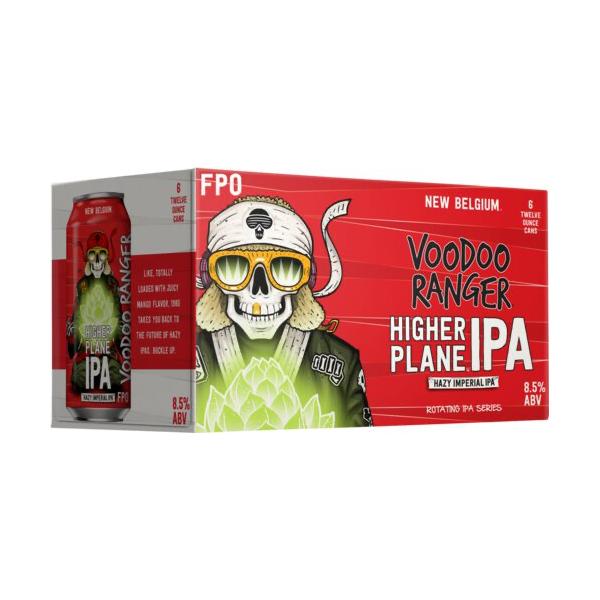 New Belgium New Belgium Brewing Company Voodoo Ranger Higher Plane Hazy Imperial IPA (12oz/6pk CAN)