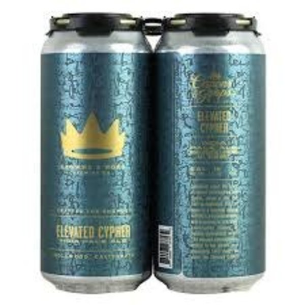 Crown & Hops Elevated Cypher IPA (4PK/16OZ CAN )