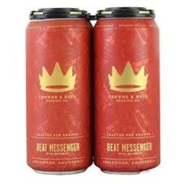 Crown & Hops Beat Messenger Pilsner (4pkc/16oz)