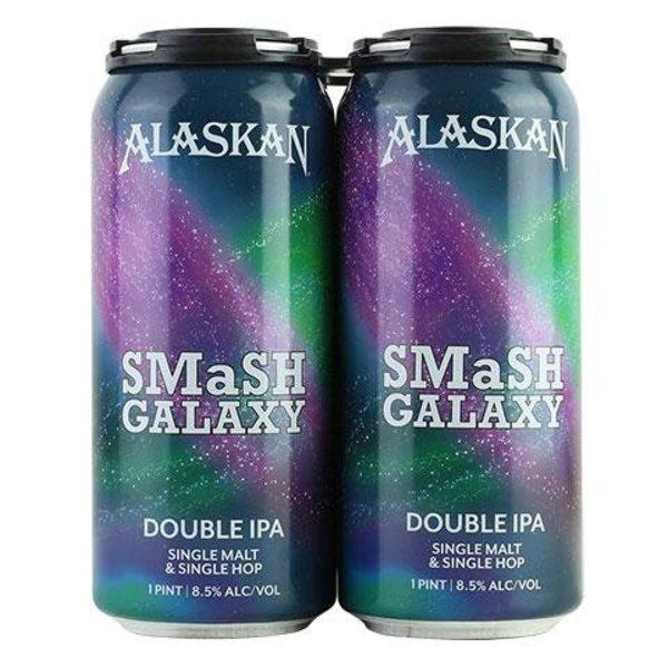 Alaskan Brewing Alaskan SMaSh Galaxy Double IPA (4pkc/16oz)