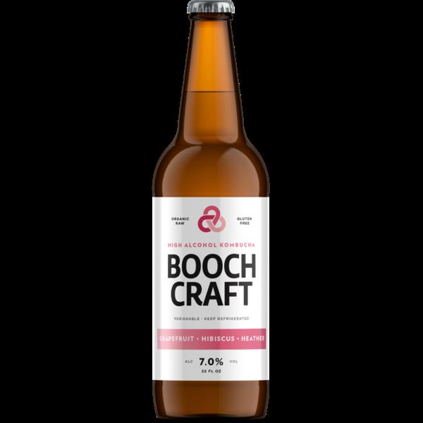 Boochcraft Boochcraft Grapefruit Hibiscus Heather  (22oz)