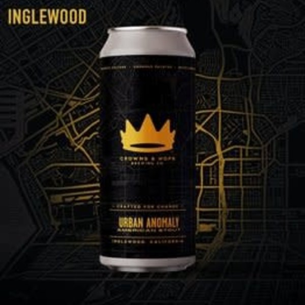 Crown & Hops Urban Anomaly American Stout (16OZ CAN )