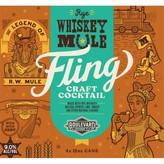 Boulevard Brewing Fling Rye Whiskey Mule (4pkc/12oz)