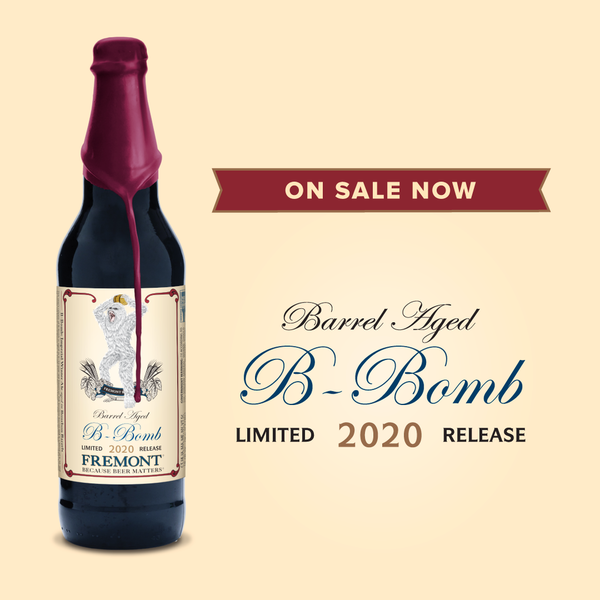 Fremont Brewing Fremont Brewing B-BOMB Limited 2020 Release Imperial Winter Ale (22oz)