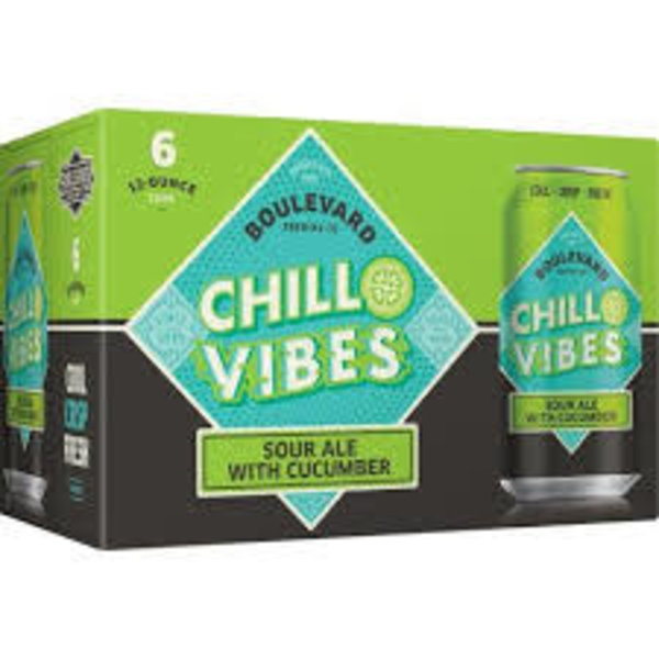 Boulevard Brewing Boulevard Brewing Chill Vibes Sour Ale With Cucumber (6pkc/12oz)
